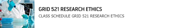 GRID 521 RESEARCH ETHICS